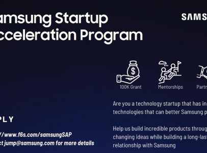 Interested in Collaborating with Samsung? Applications for new Startup Acceleration Program due April 17!
